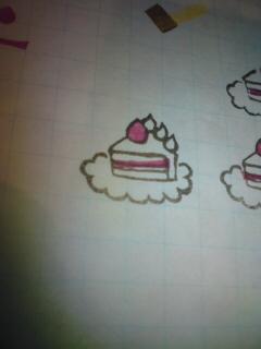 ケーキやり直し